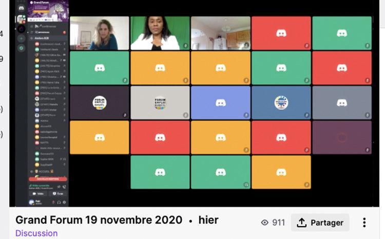 L'objectif de produire notre événement au format digital dans le contexte sanitaire actuel est atteint !